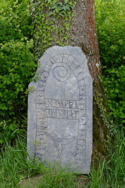 Ein Runenstein - wie er in DIE 13. JUNGFRAU vorkommt?