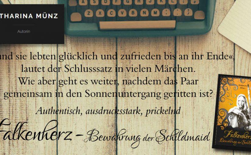 Coming soon: Falkenherz – Bewährung der Schildmaid