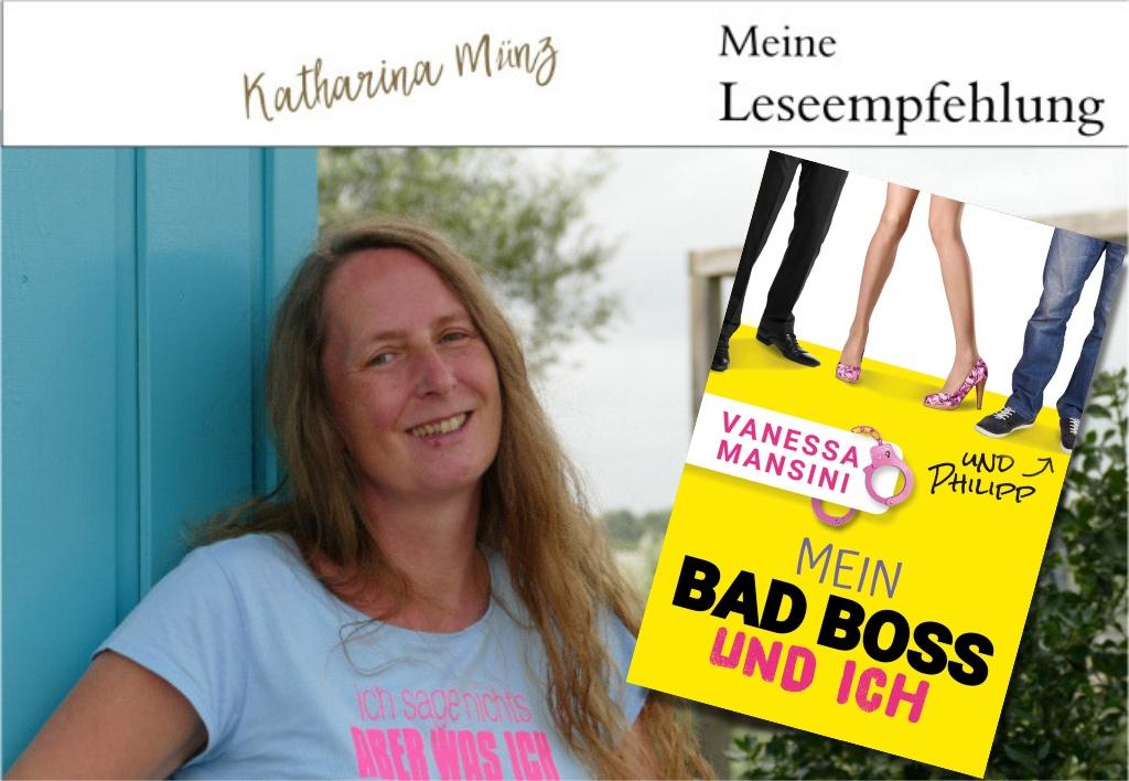 Buchvorstellung | Mein Bad Boss und ich und Philipp von Vanessa Mansini