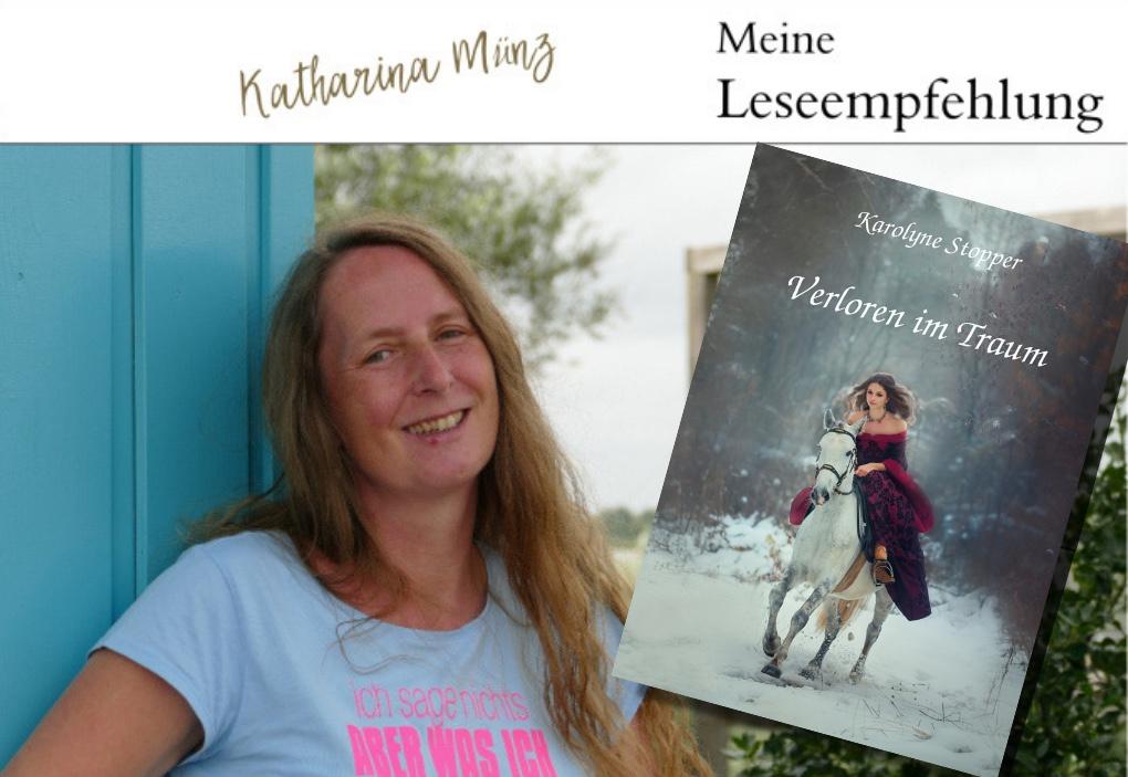 Buchvorstellung | Verloren im Traum von Karolyne Stopper